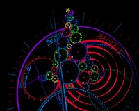 animation gear christmas colorful 3d max