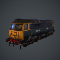 3d model british rail class