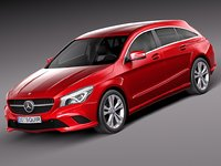 3d 2016 mercedes-benz cla