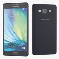 3d new samsung galaxy a5 model