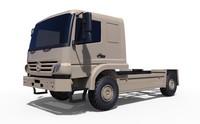 3dsmax atego military truck