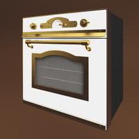 oven restart elf 061 3d model