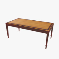 maya vintage coffee table
