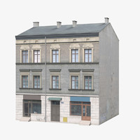 3ds max old building