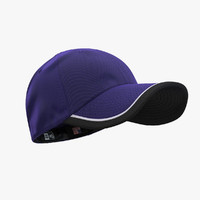 3d model - 39thirty cap purple