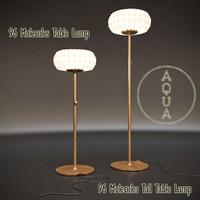 max aqua 96 molecules floor lamp