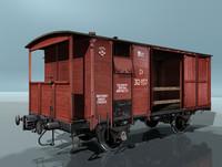 boxcar ntv 3d model