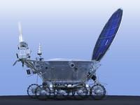 lunokhod-2 n lunar rovers 3d max