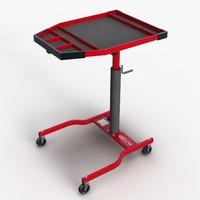 3d tools service tray model