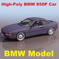 BMW 850P Car Model