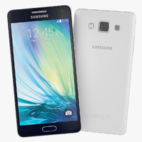 Samsung Galaxy A5 Blue And White