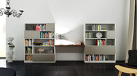 Molteni 505 5 with books - 385x170x45 cm - N.03 in M4D Vol.12