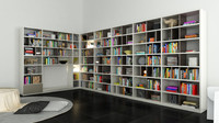 Molteni 505 7 with books - 223x232x45 cm / 475x232x40 cm - N.05 in M4D Vol.12