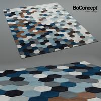 carpet rug 3d model