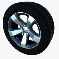 wheel jeep grand cherokee 3d model