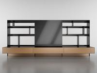 b bookcase 1 - 3d c4d