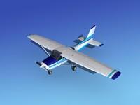 propeller cessna 172 cutlass 3d max