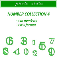Green numbers collection 4