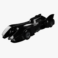 3d model batmobile 1989 bat