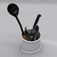 drainer dish 3d model