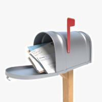 maya opened mailbox