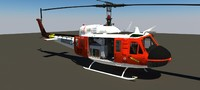 3d bell uh 1 transport
