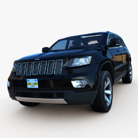 3d 2013 jeep grand cherokee