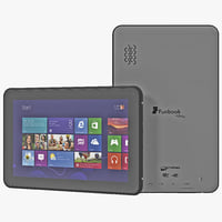 micromax funbook alfa p250 3d model