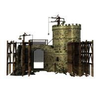 maya castle construction