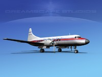 3ds propellers convair 340 charter