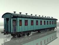 3ds carriage passenger car rail