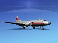 3ds max propellers convair 340