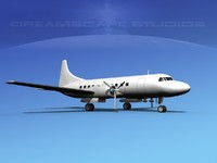 3dsmax propellers convair 340