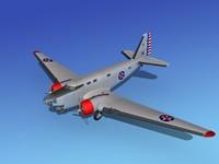 douglas b-18 bolo bomber 3d 3ds