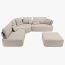 sectional sofa 3D models
