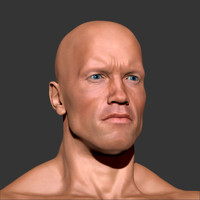 3d arnold body male man