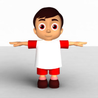 3d model cartoon animation