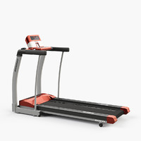 3d horizon rojo 4 treadmill