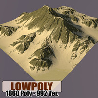 mountain games terrain 3d max