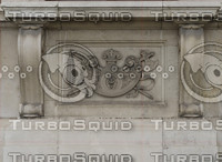 Ornate stone panel