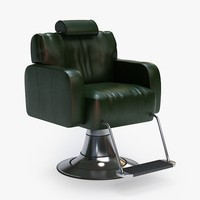 3dsmax barber chair