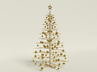 3ds max simple christmas tree