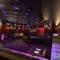 3d night club interior