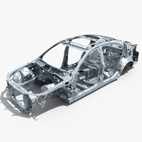 3ds max car frame 04