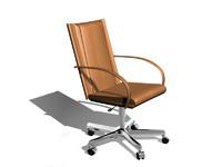 3d model carol chair