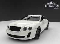 3d bentley continental gt 2010