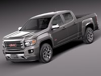 GMC Canyon DoubleCab 2015