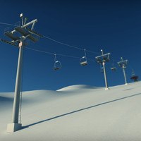 pack ski lift 3ds