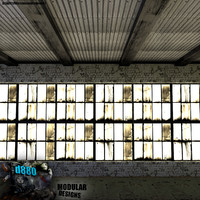 free blend mode modular warehouse interiors