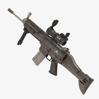Combat Assault Rifle FN SCAR L